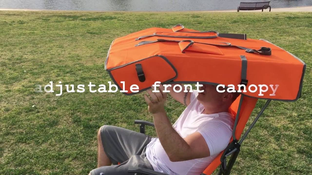 folding canopy chair plastic dining chairs the all new relax original youtube