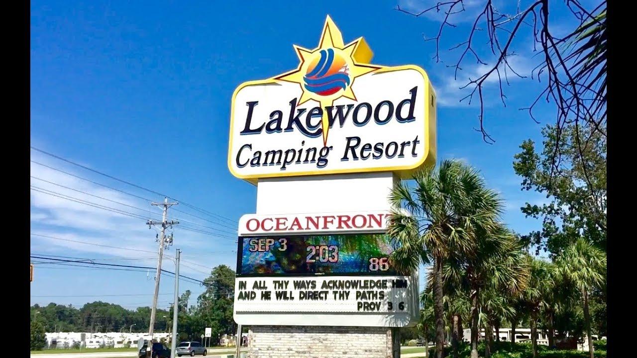 Lakewood Camping Resort Review Myrtle Beach Sc 2017