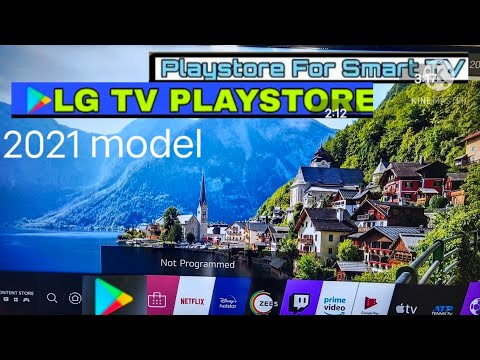 Install play store in LG smart tV