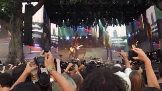 Rolling Stones - Intro/Start Me Up/It's Only Rock 'n Roll - Hyde Park July 6, 2013
