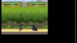 Gameplay Naruto Mugen 1.0