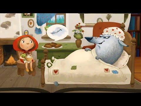 КРАСНАЯ ШАПОЧКА. Детская сказка для малышей. Мультики для детей