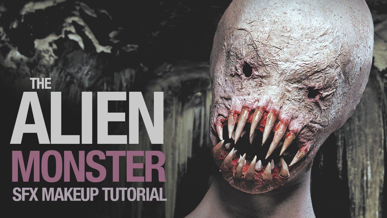 Alien monster sfx makeup tutorial youtube alien monster sfx makeup tutorial baditri Images