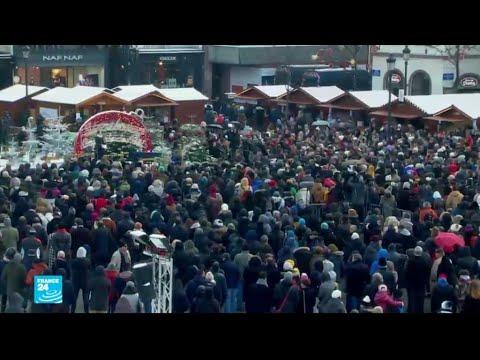 فرنسا: تكريم ضحايا اعتداء ستراسبورغ.. وعدد الضحايا يرتفع إلى خمسة  - نشر قبل 2 ساعة