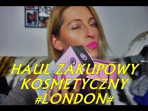 HAUL ZAKUPOWY KOSMETYCZNY#LONDON#
