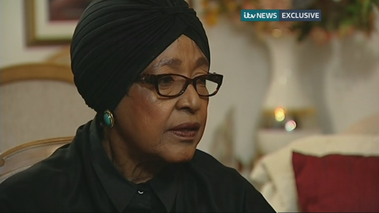 Nelson Mandela: Winnie Mandela talks about the final moments of his life