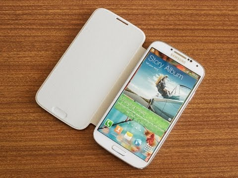 Samsung Galaxy S4 Flip Cover hands-on