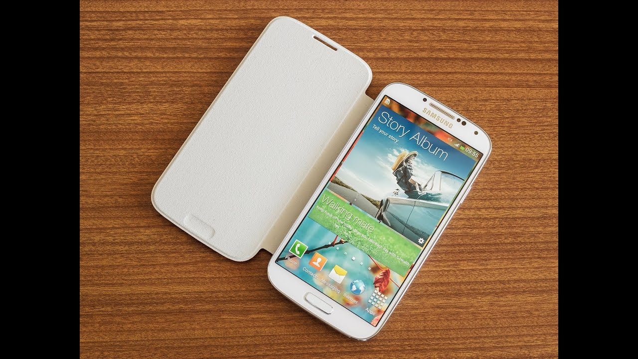 Samsung galaxy s4 flip cover hands on youtube ccuart Image collections