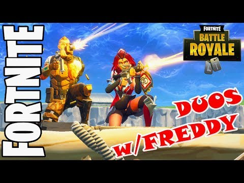 FORTNITE✅  DUOS w/Freddy / +VICTORY ROYALE with Freddy in SQUADS [🔴LIVE STREAM]