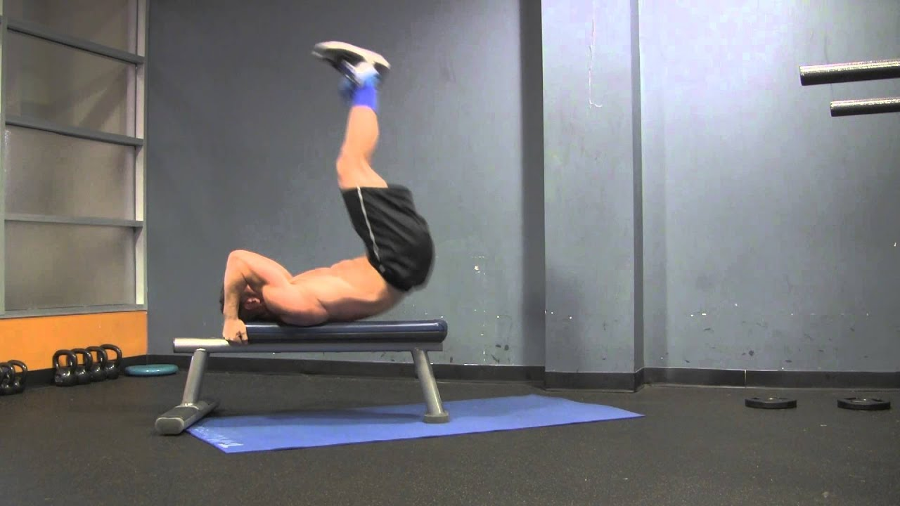 Download Killer Abs with the Dragon Flag Exercise   Tim McComsey