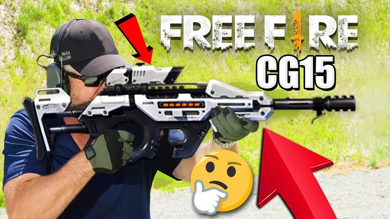 ARMAS DE FREE FIRE EN LA VIDA REAL ! *CG15,SCAR,GROZA,XM8 ...