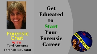 Forensic Tip  Get Educated to Start Your Forensic Career