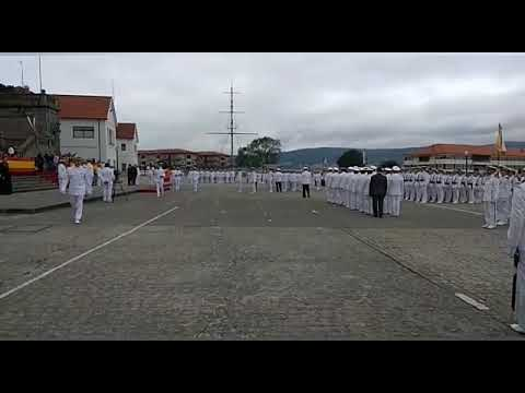 La brigada de 1994 renueva su compromiso con la patria en Marín