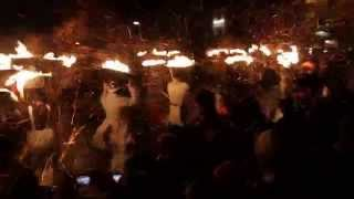 Allendale Tar Barrels - New Years Eve 2014/5