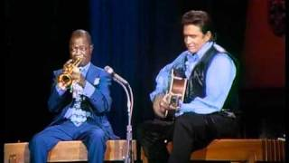 Louis Armstrong & Johnny Cash - Blue Yodel 9