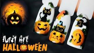 ГЕЛЬ-ЛАК и Слайдер Дизайн ПОШАГОВО ♥ Halloween Nail Art Designs(Дизайн на Halloween Пошагово ♥ ГЕЛЬ-ЛАК и слайдер дизайн ✓ ПОДПИСЫВАЙТЕСЬ на мой канал, чтобы не пропустить..., 2016-10-15T10:56:46.000Z)