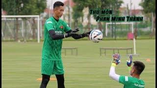 HLV Park Hang Seo bất ngờ 'XEM GIÒ' cầu thủ lạ, ấn tượng thủ môn cao 1m93