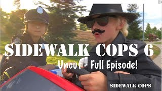 Sidewalk Cops 6 - The Dine and Dasher (Full Episode with Bloopers!)