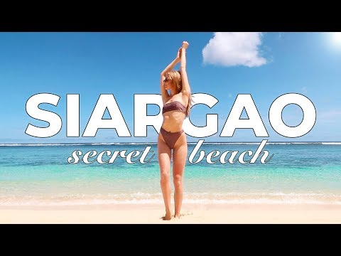 BEST BEACH in SIARGAO, PHILIPPINES! it's more fun in the Philippines :)