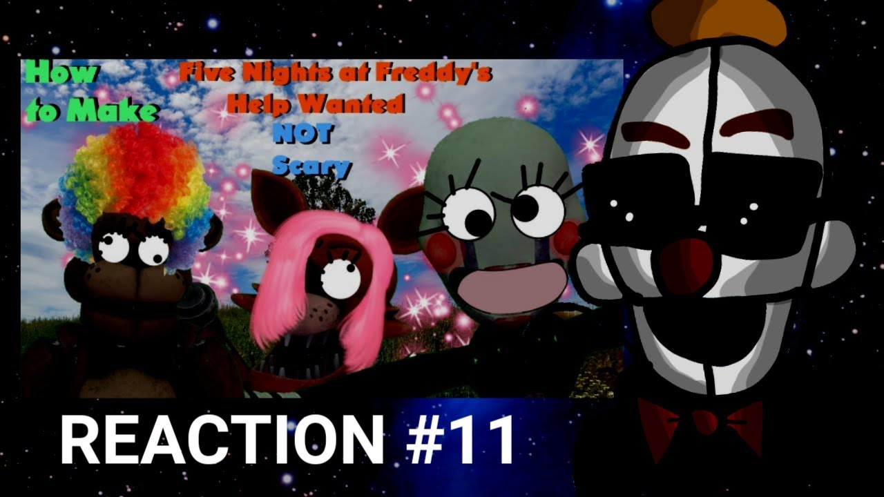 How to make fnaf vr help wanted not scary 1 3 by goronguy123 reaction 11 youtube - Fnaf 3 not scary ...