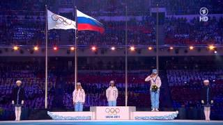 Sochi 2014 Olympics Closing ceremony (without comments) Сочи 2014 Закрытие (без комментаторов)(Sochi 2014 Winter Olympics Closing ceremony. Only sound and video, without comments, without commentators (Hallelujah!). First 30 minutes - most powerful ..., 2014-02-24T12:35:19.000Z)