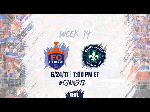 USL LIVE - FC Cincinnati vs Saint Louis FC 6/24/17