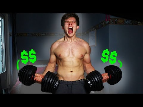 I BOUGHT THE MOST EXPENSIVE DUMBBELLS IN THE WORLD | Smart Dumbbells