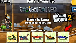 Hill Climb Racing 2 - 28168 points in SALT AND TEARS Team Event