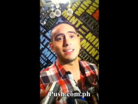 Gerald Anderson admits to spending Valentine's Day with Sarah Geronimo
