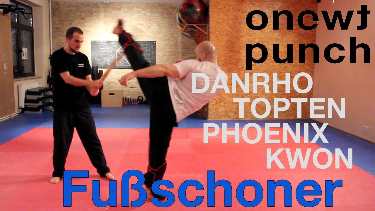 Kwon Schienbein und Spannschutz Muay Thai