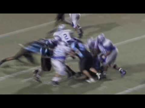 Westbury High School Football Highlights 09-10 [Part 2]