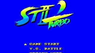 Street Fighter II (Sega Genesis Beta) - All music