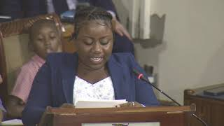 Shaneille, age 18, demands action to #ENDviolence against children