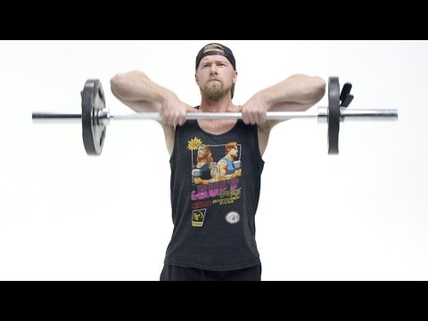 How To Perform the Upright Row Exercise Tutorial