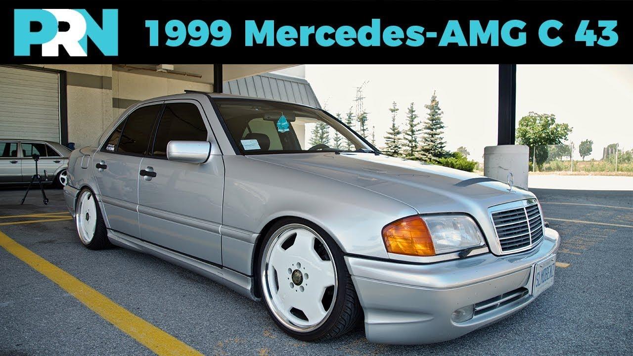 1999 mercedes benz c43 amg w202 testdrive spotlight youtube. Black Bedroom Furniture Sets. Home Design Ideas