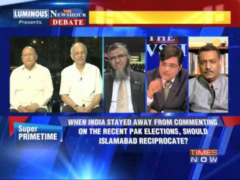 The Newshour Debate: India polls, Pakistan needles - Full Debate (30th April 2014)