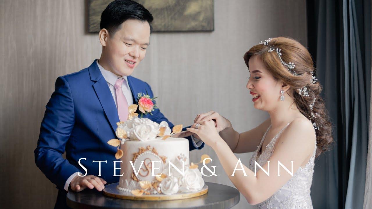 Hilton Manila Hotel Wedding of Steven and Ann