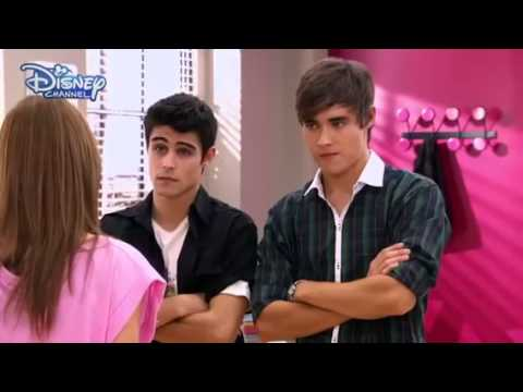 Violetta || Vilu argues with Tomás and León