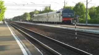 Дизель-поезд АЧ2-051 Калуга 1 - Фаянсовая. Станция Калуга 2