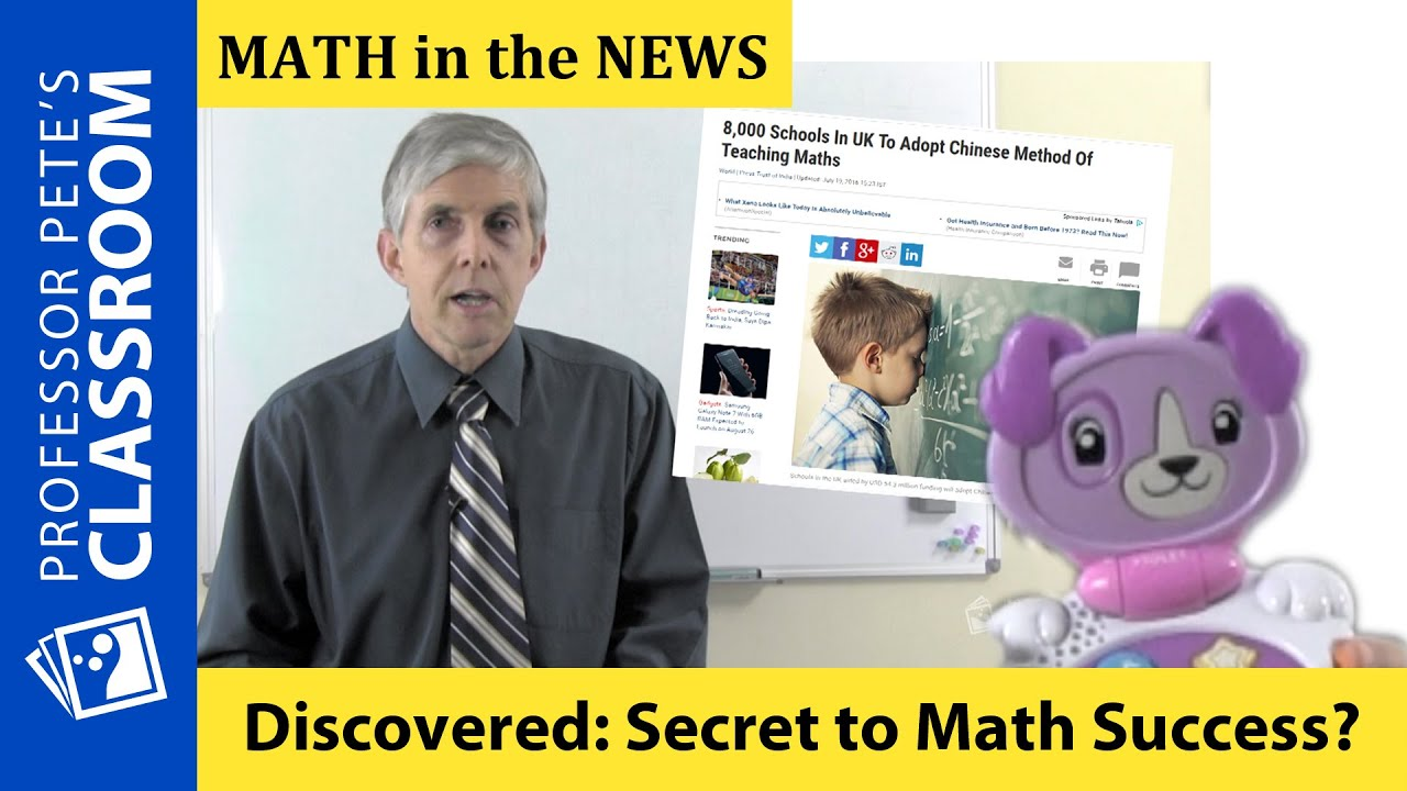 K-6 Math in the News: Is Rote Learning of Mathematics the Answer to ...