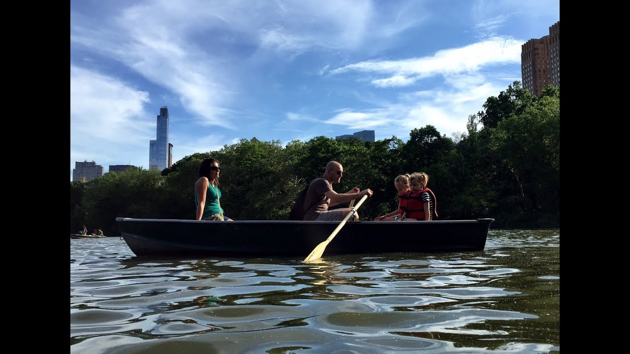 Central Park Row Boats rentals in NYC