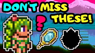 ACCESSORIES YOU CAN'T LÏVE WITHOUT IN TERRARIA 1.4! BEST ACCESSORIES IN TERRARIA FOR ALL CLASSES!