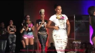 Cynthia Bailey, Erica Dixon, Jade Novah, Che' Mack- Hop Weekly Fashion Show