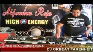 DJ ORBEAT EN LUNES DE ALFOMBRA ROJA CON SONIDO ROOYERS ATRAVES DE DISCOMAGICRADIO