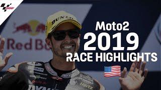 2019 #AmericasGP   Moto2 Race Highlights