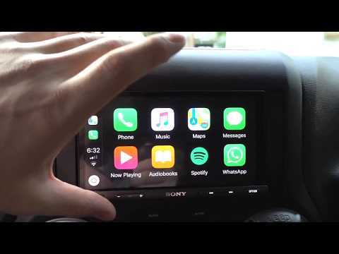 2017 Jeep Wrangler In Depth Review Of Sony XAV-AX5000