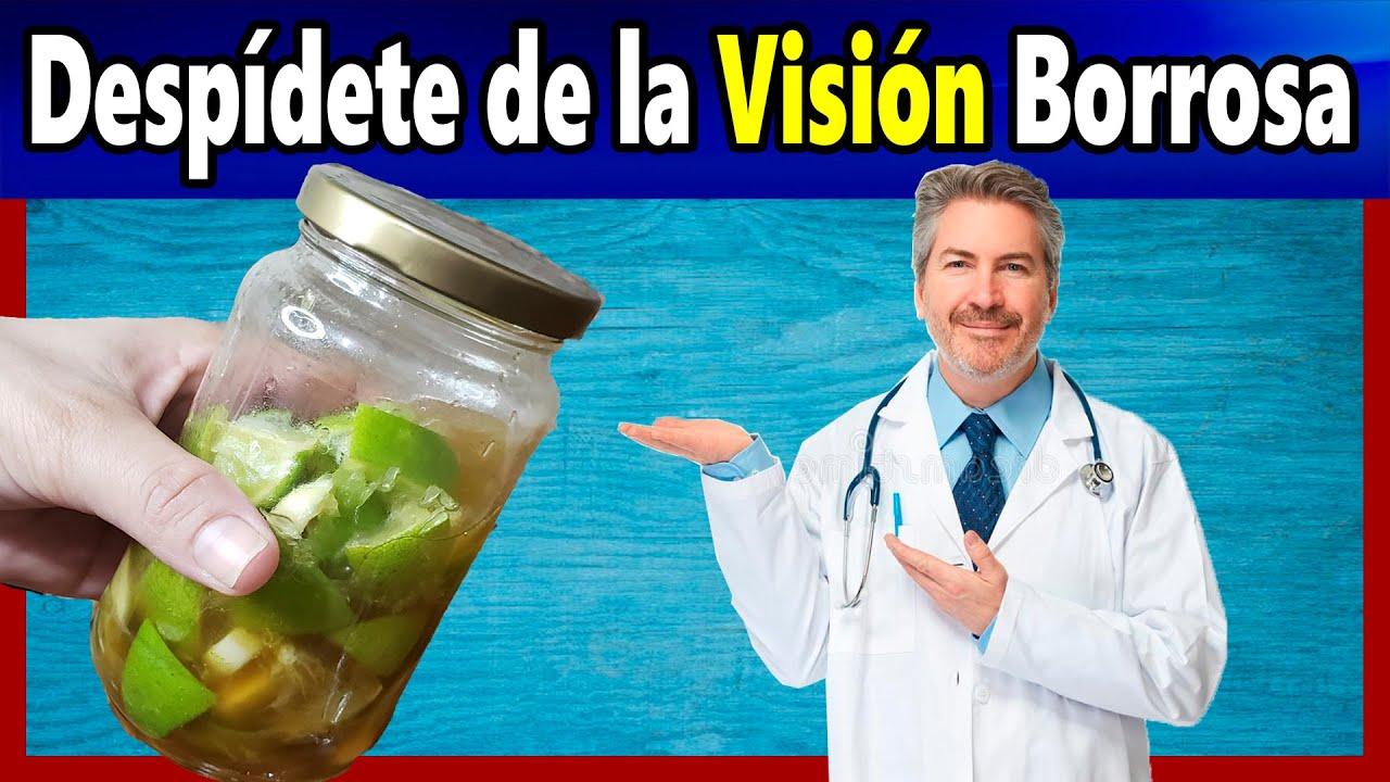Dile Adiós a la Visión Borrosa, y Protege tu Vista, con este Remedio Casero