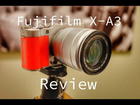Fujifilm X-A3 Review.