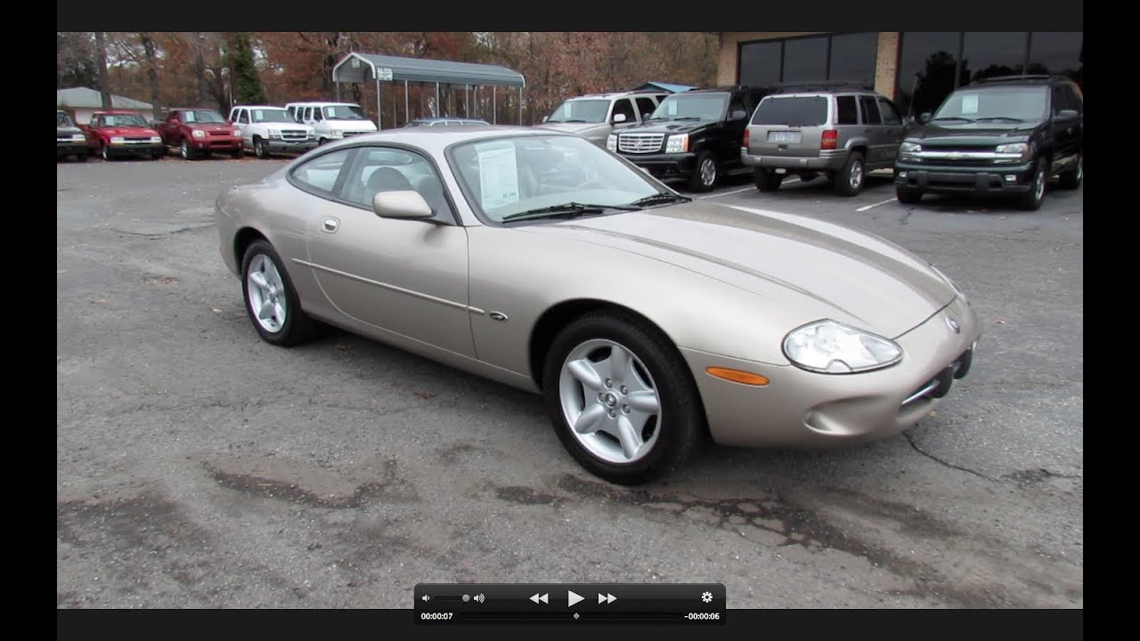 1997 jaguar xk8 coupe start up exhaust in depth tour and short drive youtube