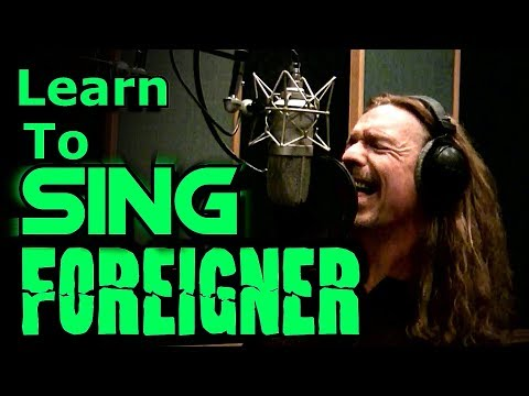 How To Sing - Foreigner - Lou Gramm cover - I Want To Know What Love Is - Ken Tamplin Vocal Academy